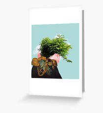 TREE MAN. Greeting Card