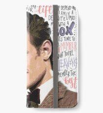 Matt Smith / Doctor Who iPhone Wallet/Case/Skin