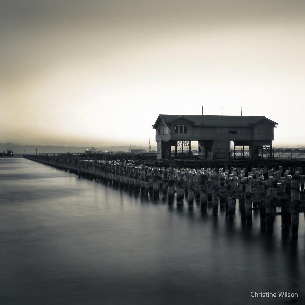 """Princes Pier "" by Christine Wilson Redbubble"