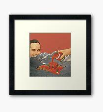 Tomato Mountain Framed Print