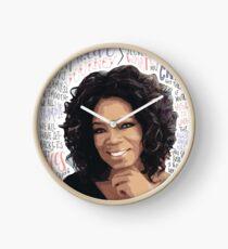 Oprah Winfrey Clock