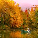 Autumn - Fishing - Simply paradise by Michael Savad