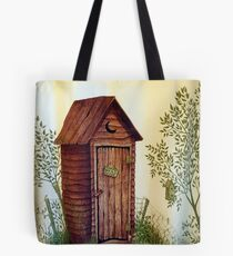 """""""Hers"""" Kountry Outhouse Tote Bag"""