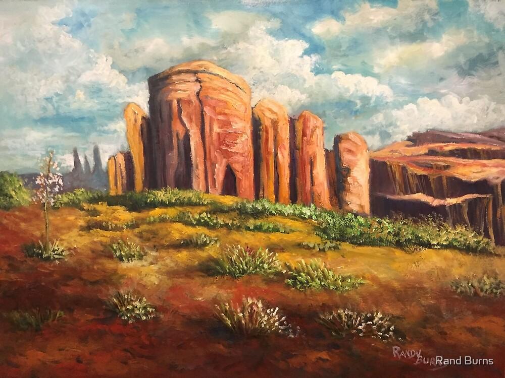Castle Rock by Randy Burns