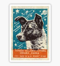 LAIKA (SPACE TRAVEL) Sticker