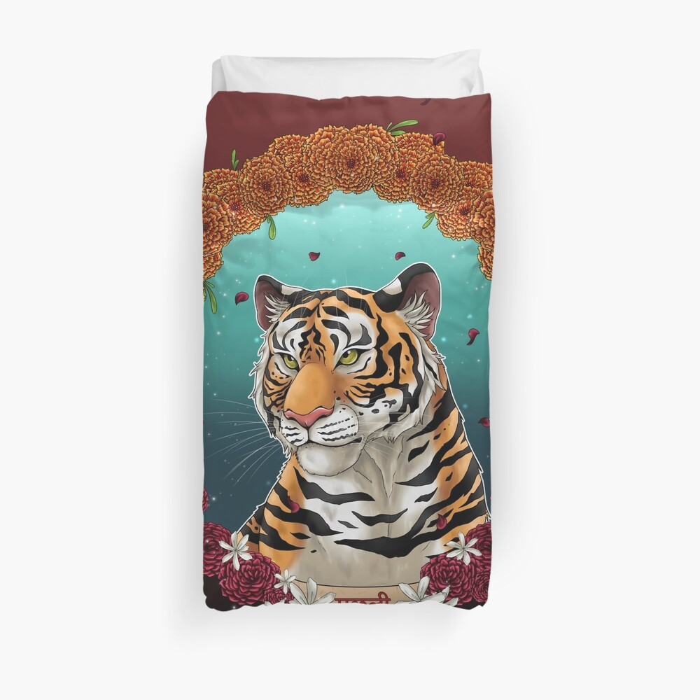 Machli - The Queen of Tigers Duvet Cover