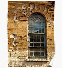 Sandstone Window Poster