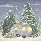 Christmas Camper by raediocloud