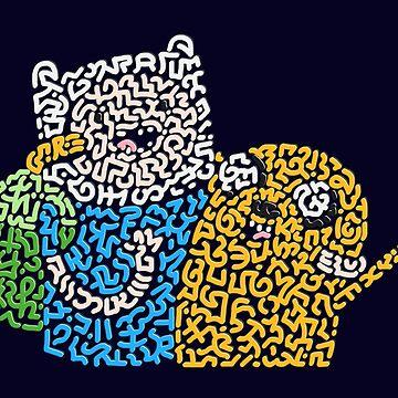 "Finn & Jake in ""Adventure Time""  by Karotene"