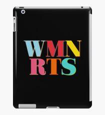 WMN RTS Woman Rights iPad Case/Skin