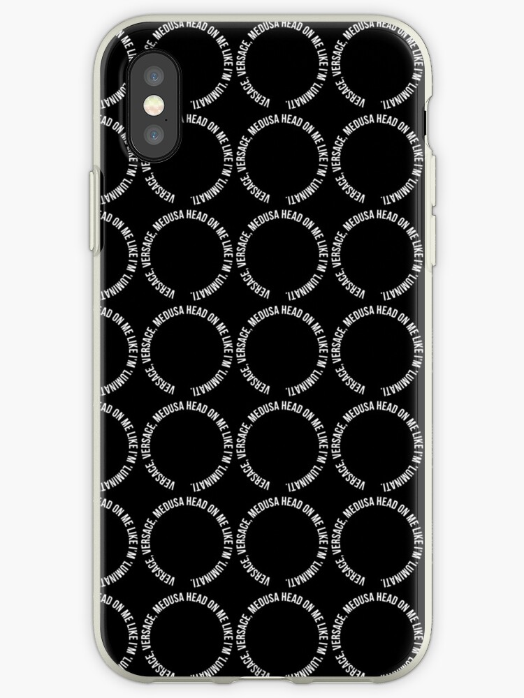 check out 703a0 90898 'Versace head' iPhone Case by Profashionall