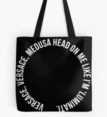 Bolsa de tela Cabeza de Versace