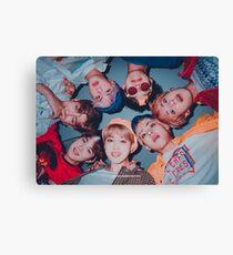 BTS niedliches Gruppenplakat - SG 2019 Leinwanddruck