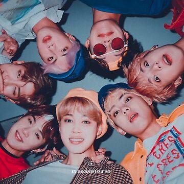 Cartel lindo del grupo BTS - SG 2019 de KpopTokens