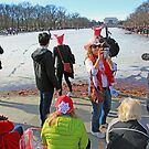 The Womens March With Pussy Hats At The Lincoln Memorial by Cora Wandel