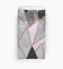 Vibrant Sharp Stone Duvet Cover