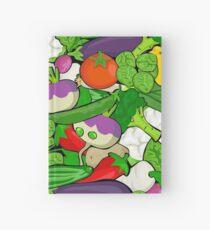 Vegetables Hardcover Journal