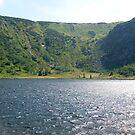 mountain lake by owlontree