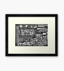 News Of The Day Framed Print