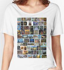 Most Famous Paintings, #Most, #Famous, #Paintings, #FamousPaintings, #VanGogh, #StarryNight, #VincentVanGogh Women's Relaxed Fit T-Shirt