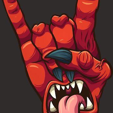 Devil horns by memoangeles
