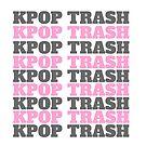 Kpop Papierkorbaufkleber \ von cassandra-n21
