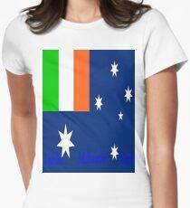Irish Oz  Womens Fitted T-Shirt