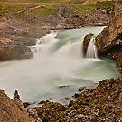 Geitafoss-Wasserfall, Island von Mark Bangert