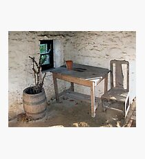 Thatched cottage kitchen Photographic Print