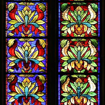 Stained glass by puratura