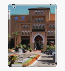 a desolate Morocco landscape iPad Case/Skin