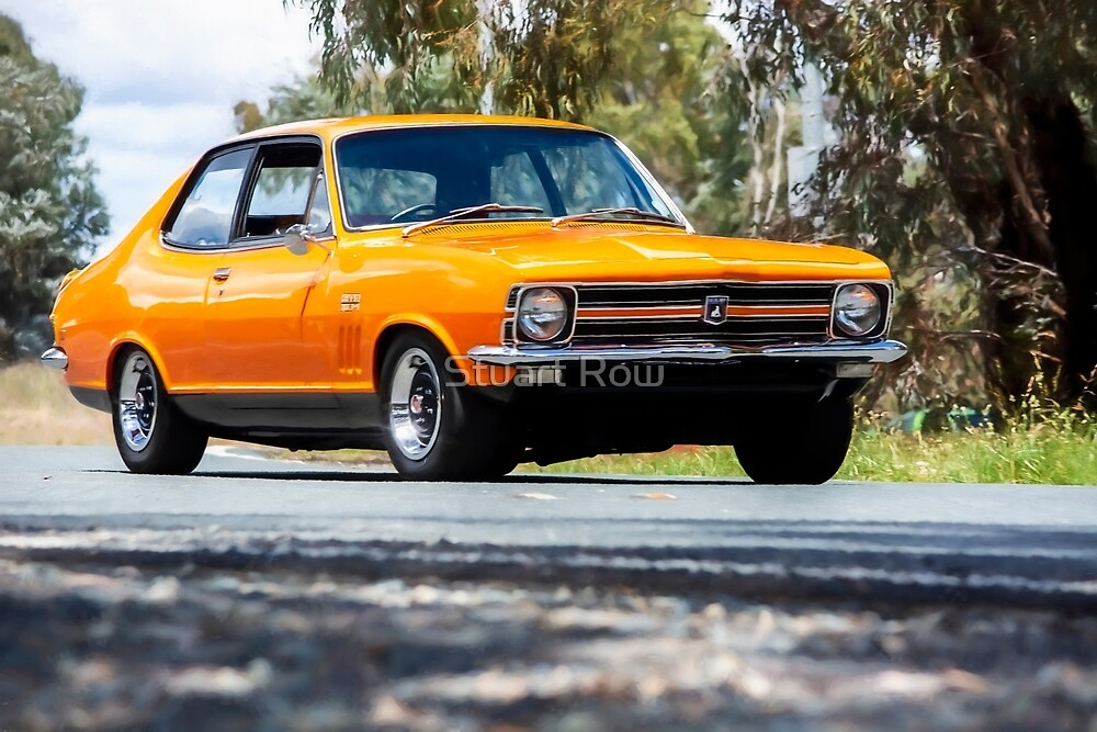 Orange LC Torana GTR XU-1 by Stuart Row