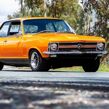 Orange LC Torana GTR XU-1 by StuartRow