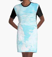 Little Mermaid Graphic T-Shirt Dress
