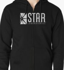 STAR Labs - Dark Colors Zipped Hoodie