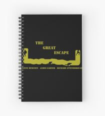 The Great Escape Spiral Notebook
