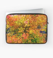 Orange and Yellow Leaves Laptop Sleeve