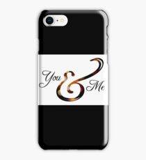 Ampersand - You & Me iPhone Case/Skin