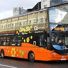 Modern Double Decker Bus - Fab Fifty Six Night by The Transport Lens