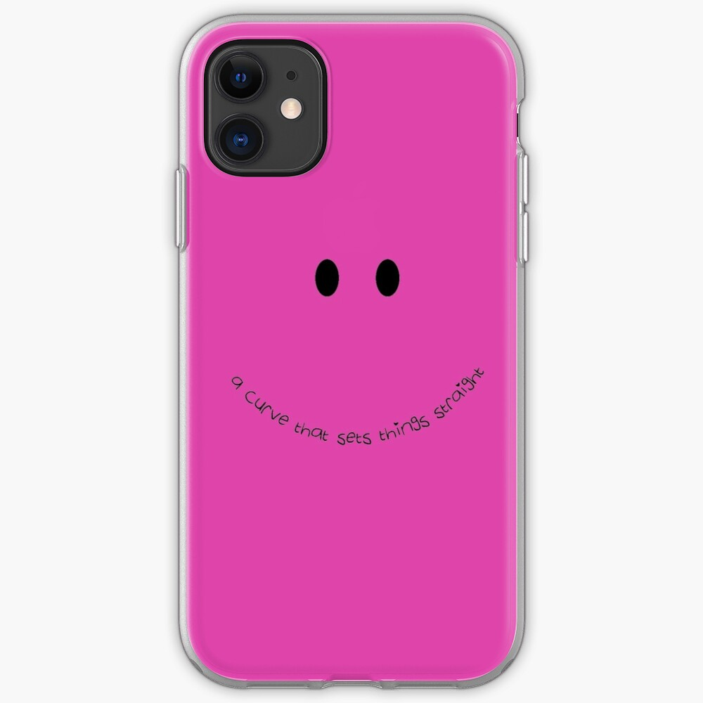 A Smile Sets Things Straight iPhone Soft Case