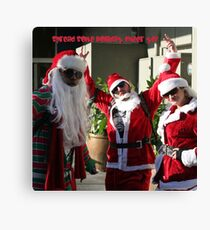 spread some holiday cheer- yo! Canvas Print