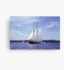 Bluenose 2 -Halifax Harbour Canvas Print
