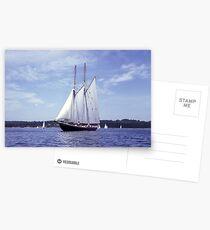 Bluenose 2 -Halifax Harbour Postcards