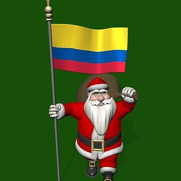 Santa Claus Visiting Colombia by Mythos57