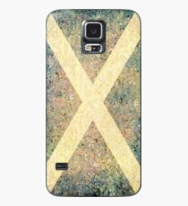 VINTAGE SALTIRE Case/Skin for Samsung Galaxy