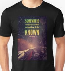 Space Exploration (Carl Sagan Quote) Unisex T-Shirt