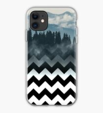 Mountains-Chevron iPhone Case