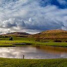 Golf Course reflections by Cat Perkinton