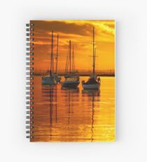 """Morningtide"" Spiral Notebook"