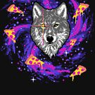 Galactic Pizza Wolf by wytrab8